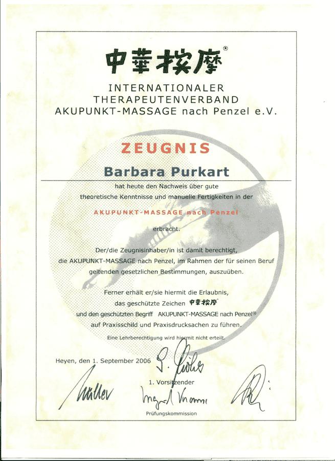 diploma akupresura akupunktna masaza po Penzlu ljubljana