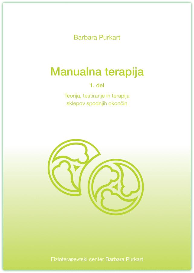 Zelena platnica knjige Manualna terapija prvi del