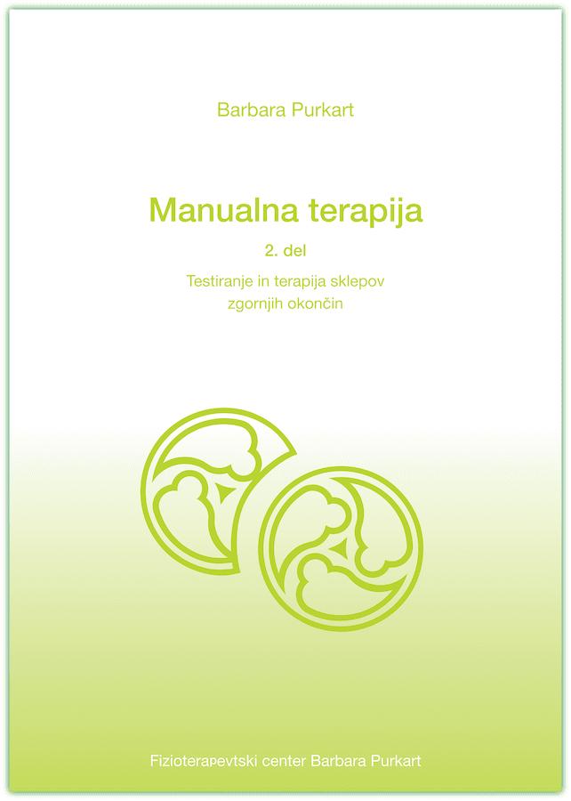 Sklepna partnerja na naslovnici knjige manualna terapija drugi del